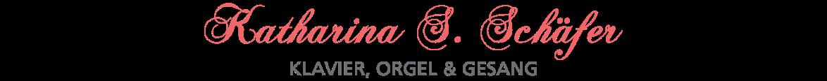 Logo von Klavierlehrerin und Sängerin Katharina S. Schäfer aus Gerlingen