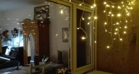 Lichterbalkon mit Balkonkonzerten im Advent_Gerlingen
